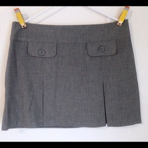 Old Navy Skirts - NWT Old Navy Gray Miniskirt Size 12